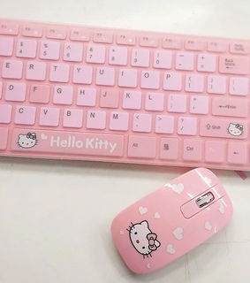key, cute and pink