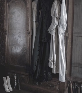 gloomy, gothic dresses and palace