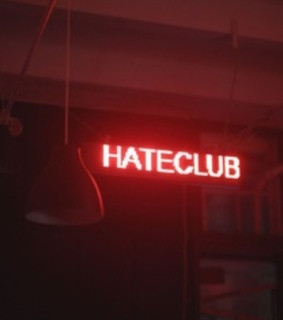 club, Devil and red
