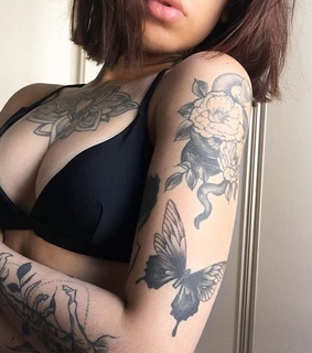 sentiments, body and Tattoos