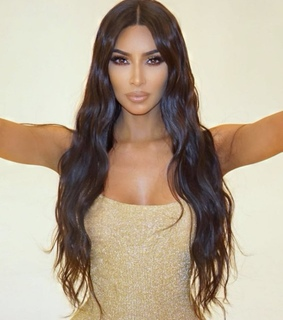fashion, kim kardashian hair and kim kardashian west