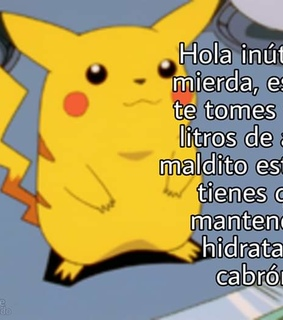 memes en español, posting and pikachu