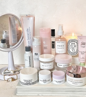 glossier, beauty and skincare