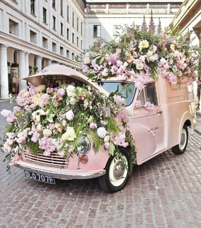 flowers, car and beautiful