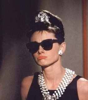 actress, Breakfast at Tiffanys and old