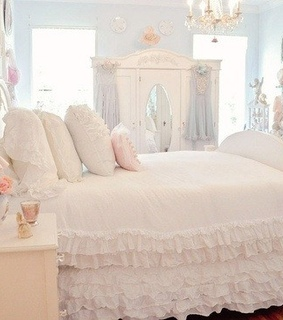 bed, bedroom and soft