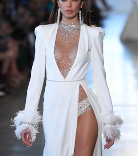 berta, bridal and feathers