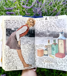 journaling, vintage and collages