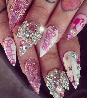 nails, 2000s and y2k