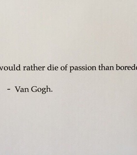 thoughts, live and gogh