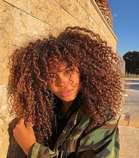curly, alternative and hair goals