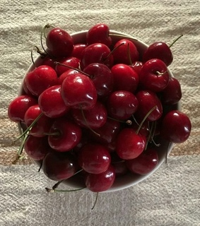 red, instagram and cherries