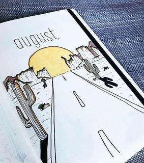 bullet journal, coverpage and cover