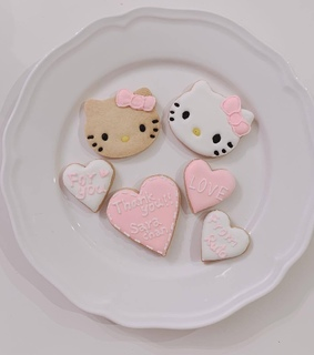 cute, cookie and pink