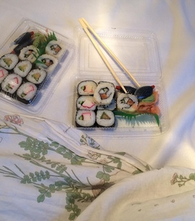 sushi, aesthetics and asian food