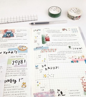 mood tracker, planner and organization