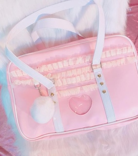 bag, pastel and angel