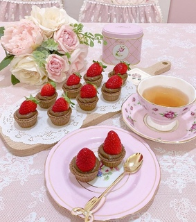 tea party, sweet and vintage