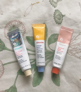 vintage, glossier and coconut