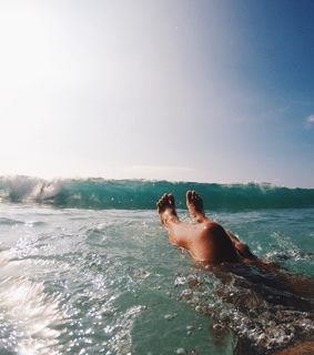 sunshine, relax and ocean