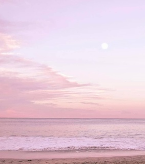 pink aesthetic, sea and love