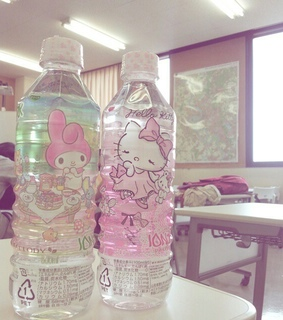 japan, hello kitty and drinks