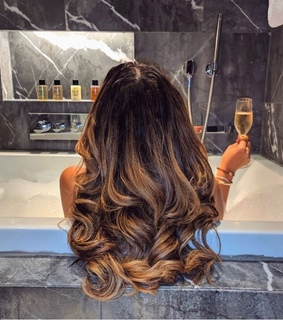 glam, lifestyle and hair