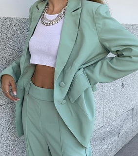 fit, mint green and work