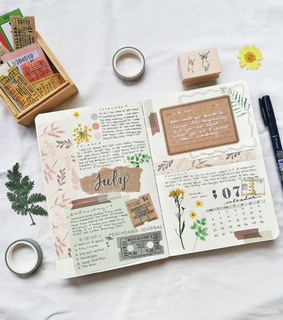 writing, art and bullet journal