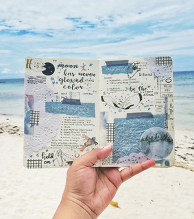 bullet journal, art and writing