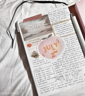 art, bullet journal and writing