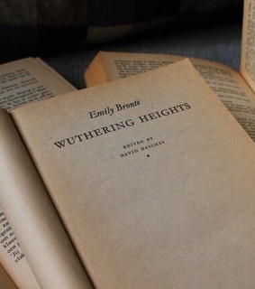 bronte, books and vintage