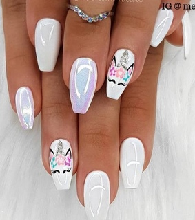girl things, beauty and nails design
