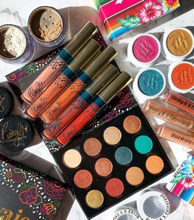 makeup, becky g and colourpop cosmetics