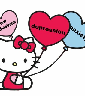 cute, anxiety and depression