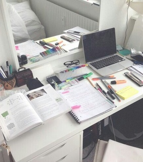 goals, stationery and study