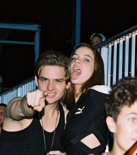 dylan sprouse, barbara palvin and love