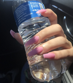 pink, long nails and nails