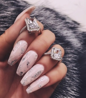 pink gold, fashion and rings