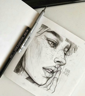 sketch, draw and art