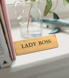 boss, lady and girl