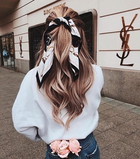 hair style, chic and girl