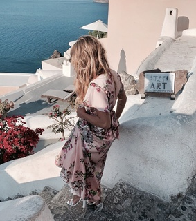 blonde, photography and Greece