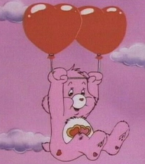 pink, cute and care bears