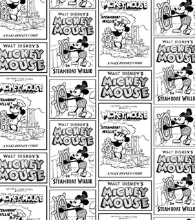 fabric, disney and mickey mouse