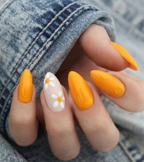 nails, fashion and simple