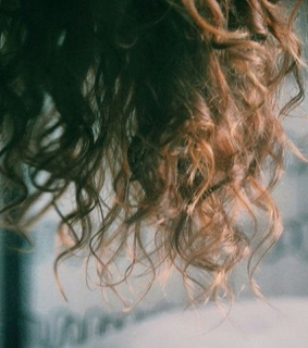 curly, brown and vintage