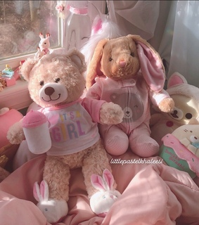 pink, baby and bedroom