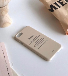 phone, beige and brown