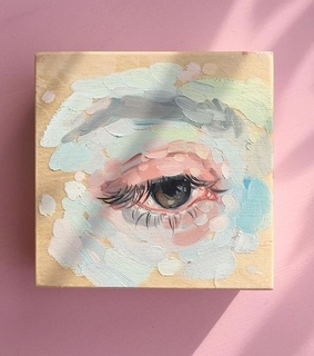 art, eye and painting